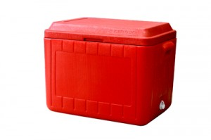 8480-michigan 4-caser-cooler-red